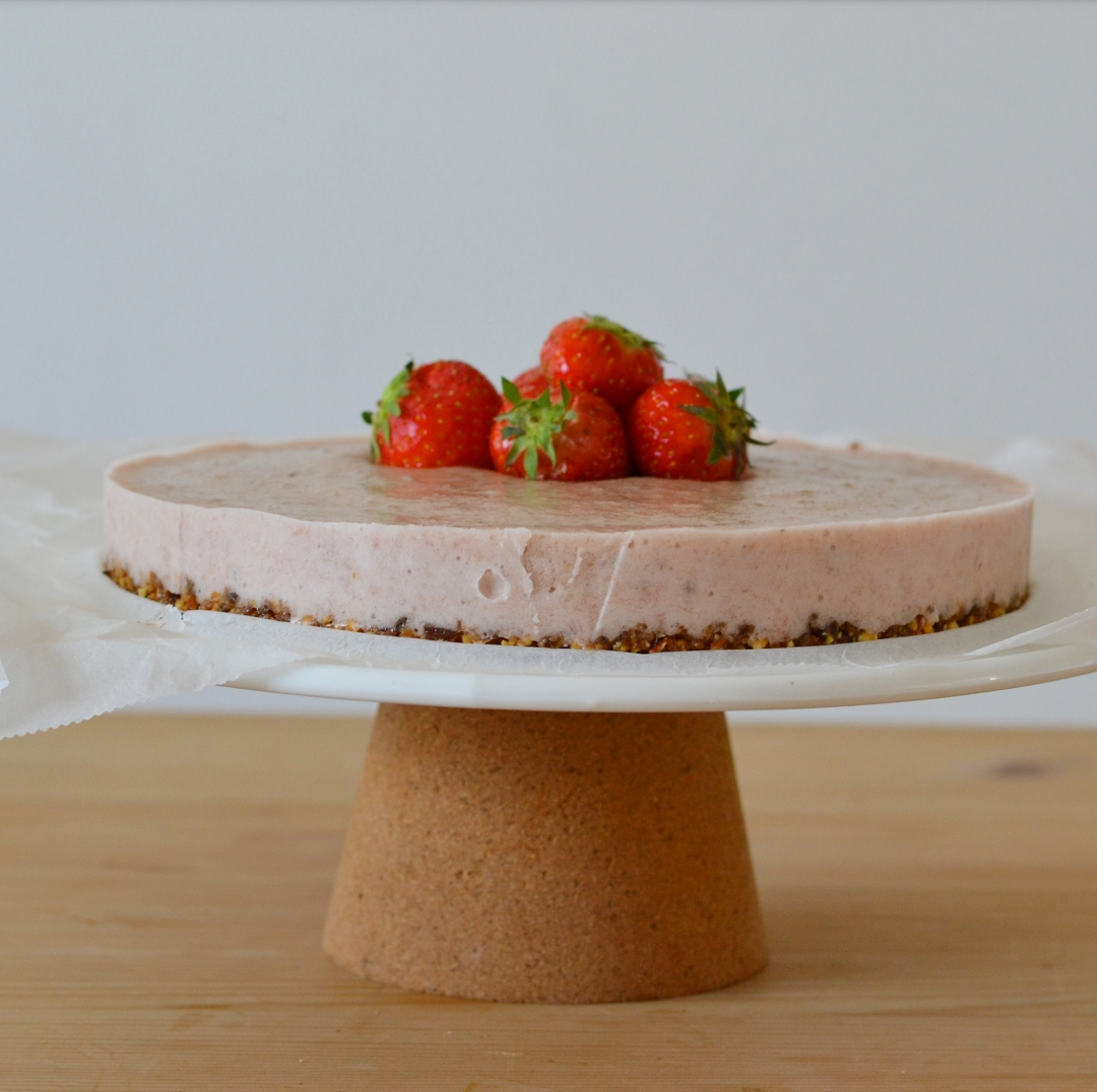 Strawberry Summer Cake Gluten Free