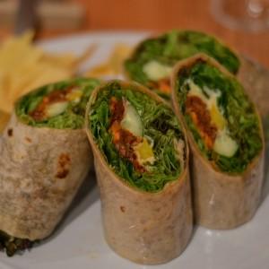vegan wraps ain soph tokyo restaurant