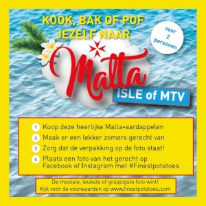 win a trip to malta finest potatoes