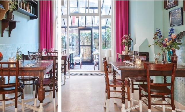 Marits: a vegetarian and vegan living room restaurant in Amsterdam ...