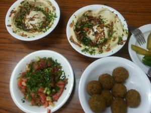 lina best  hummus falafel jerusalem
