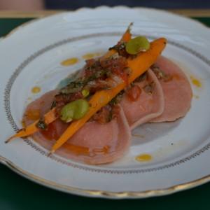 pink ravioli vegetarian marit amsterdam
