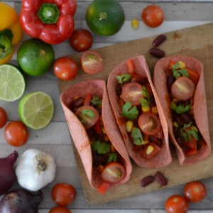 soft shell tacos vegan