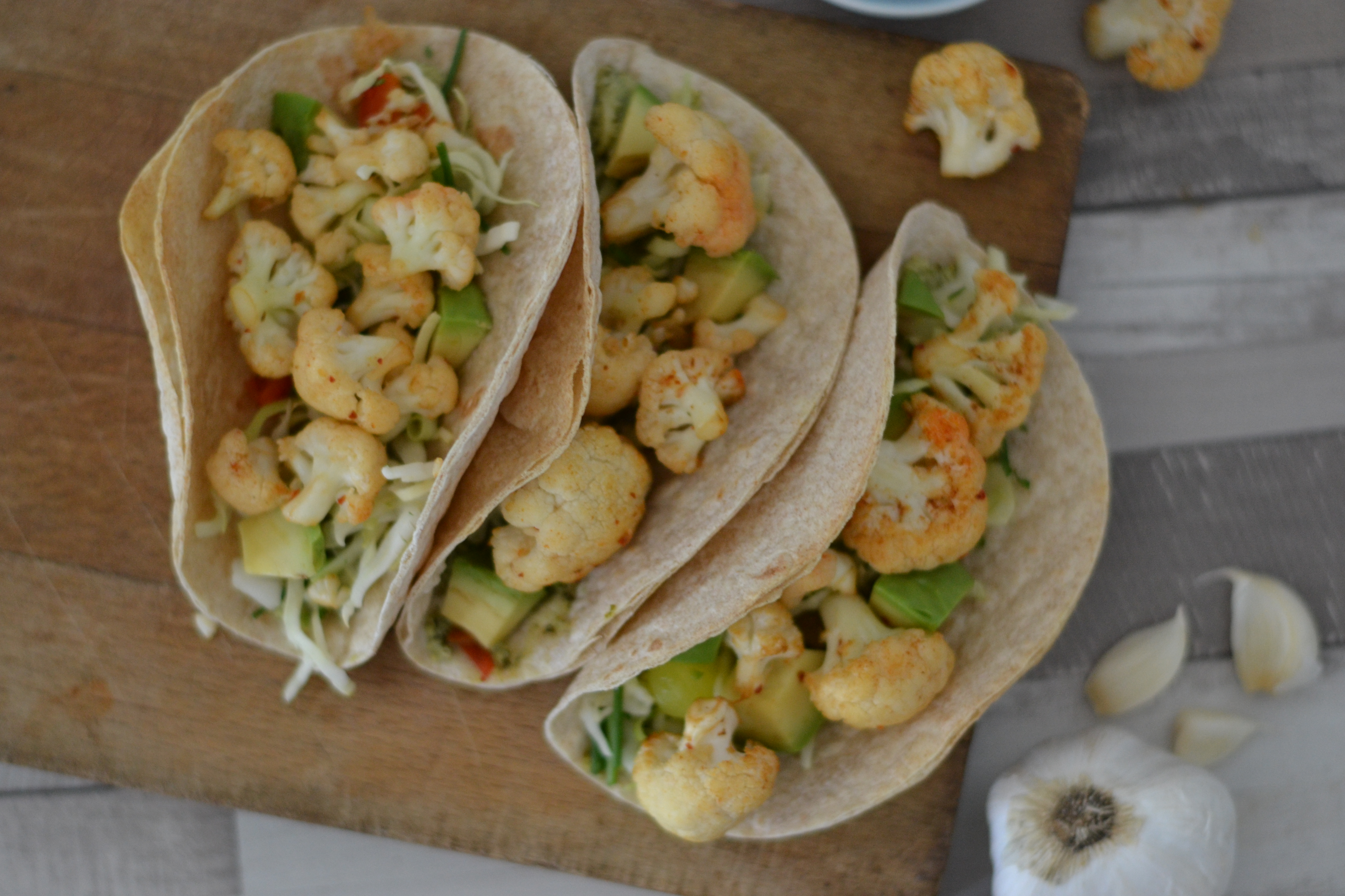 Thug Kitchen\'s roasted beer and lime cauliflower tacos - Anne Travel ...