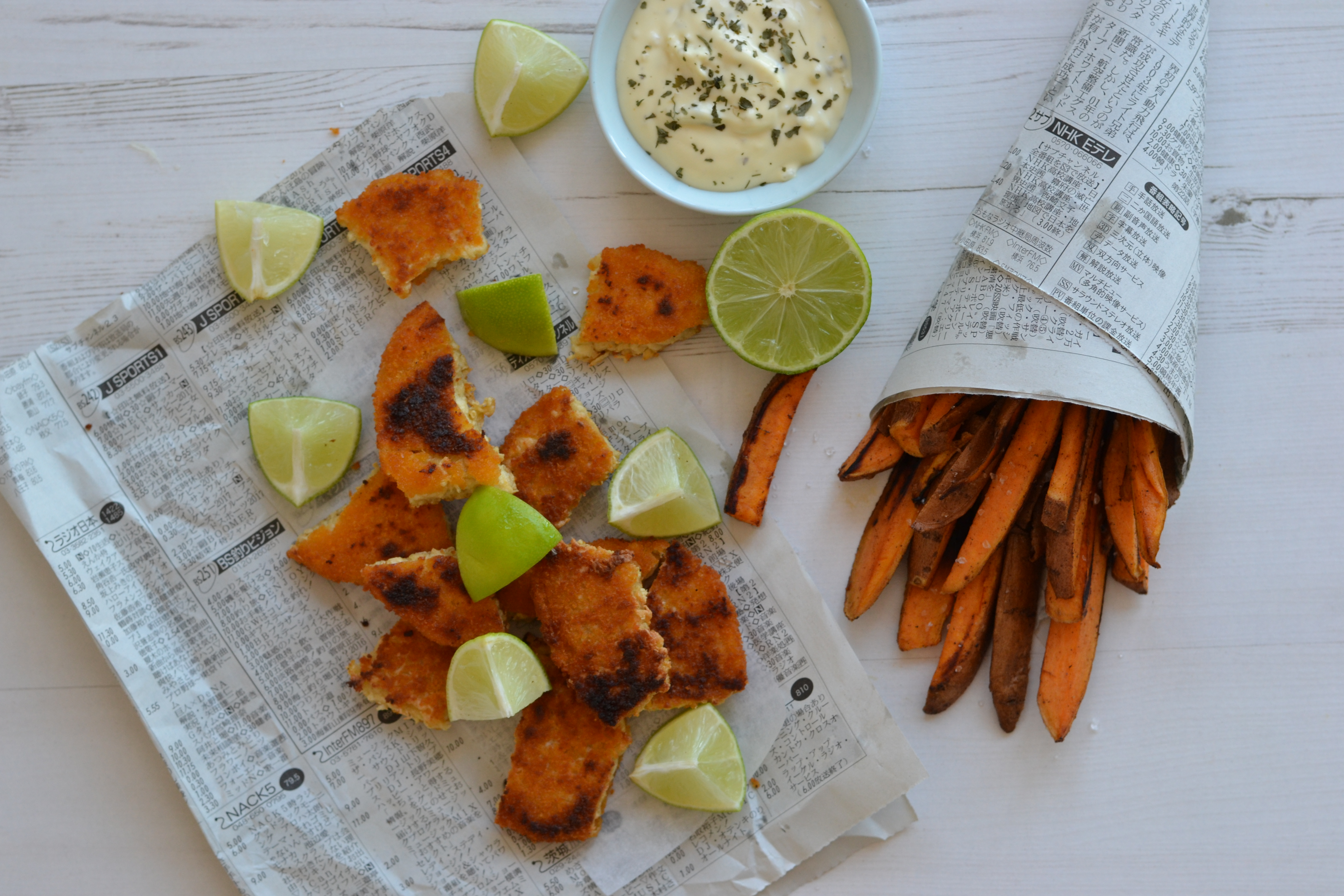 Vegan fish and chips anne travel foodie for Can vegetarians eat fish