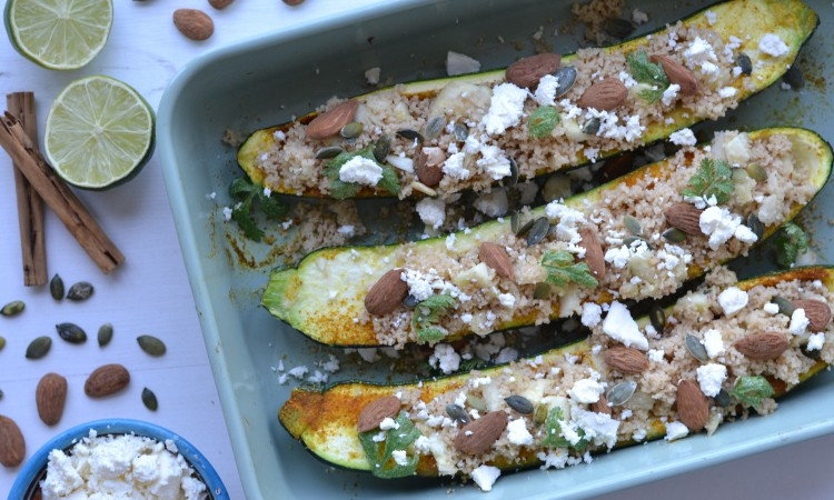 vegetarian courgette couscous recipe