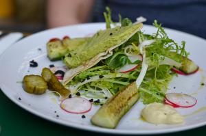 vegetarian salad marits eetkamer amsterdam