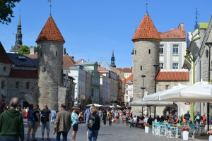 medieval city tallinn estonia