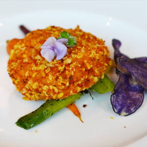 vegetarian fried risotto