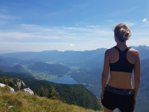 Slovenian alps hike