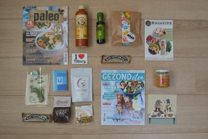 goodie bag food blogger tour tilburg