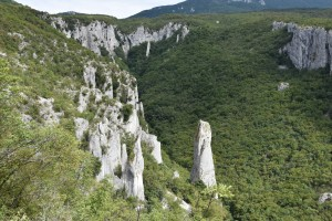 ucka natural park vela draga canyon