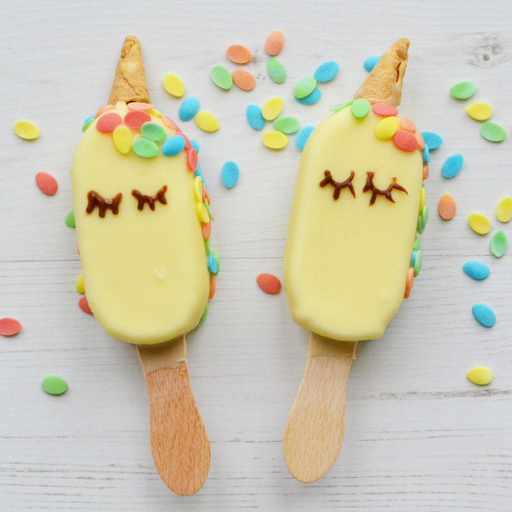 Unicorn Pop Art Ice Cream Drawing