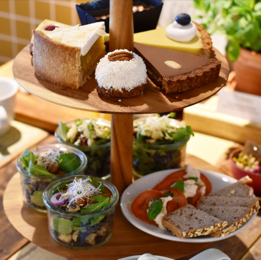 glutenvrije high tea vegetarische vegan