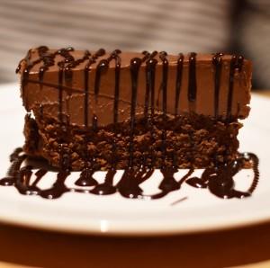 budva montenegro Riva chocolate cake