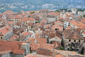 kotor unesco town montenegro
