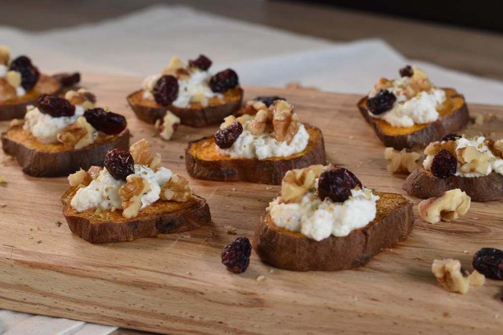 recipe sweet potato ricotta slices