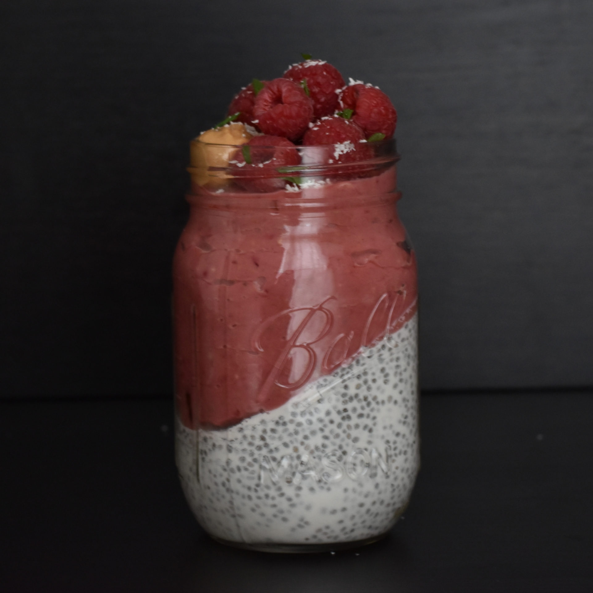 chia pudding green kitchen at home
