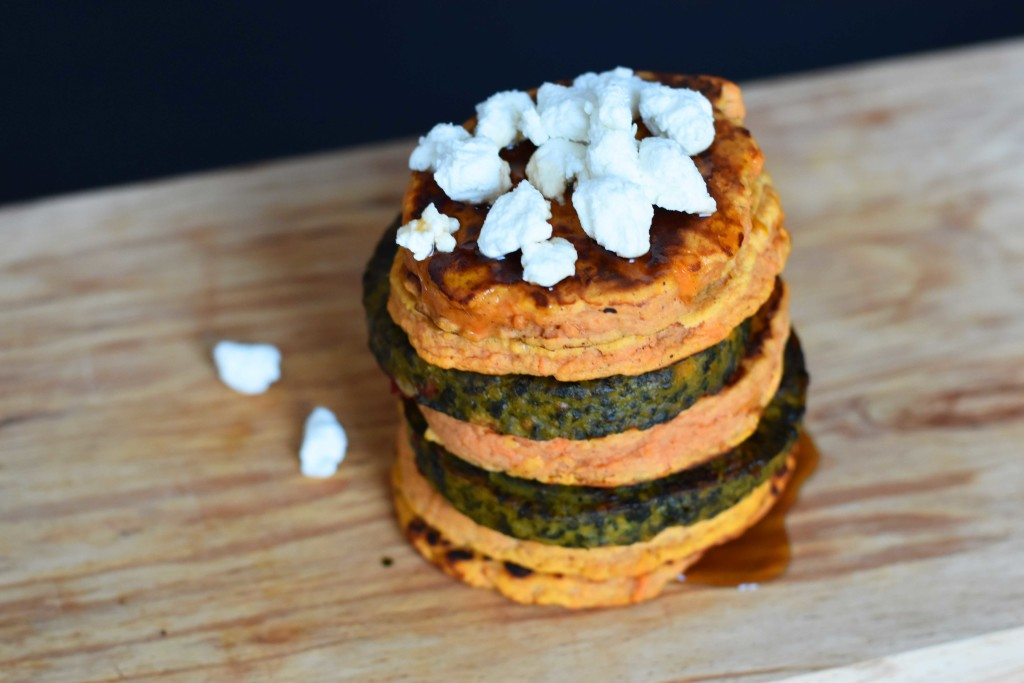 sweet potato pancakes dinner recipes