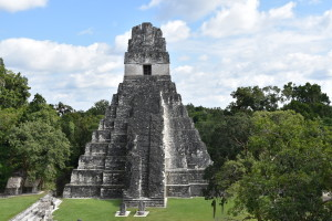 temple tikal gueatemala