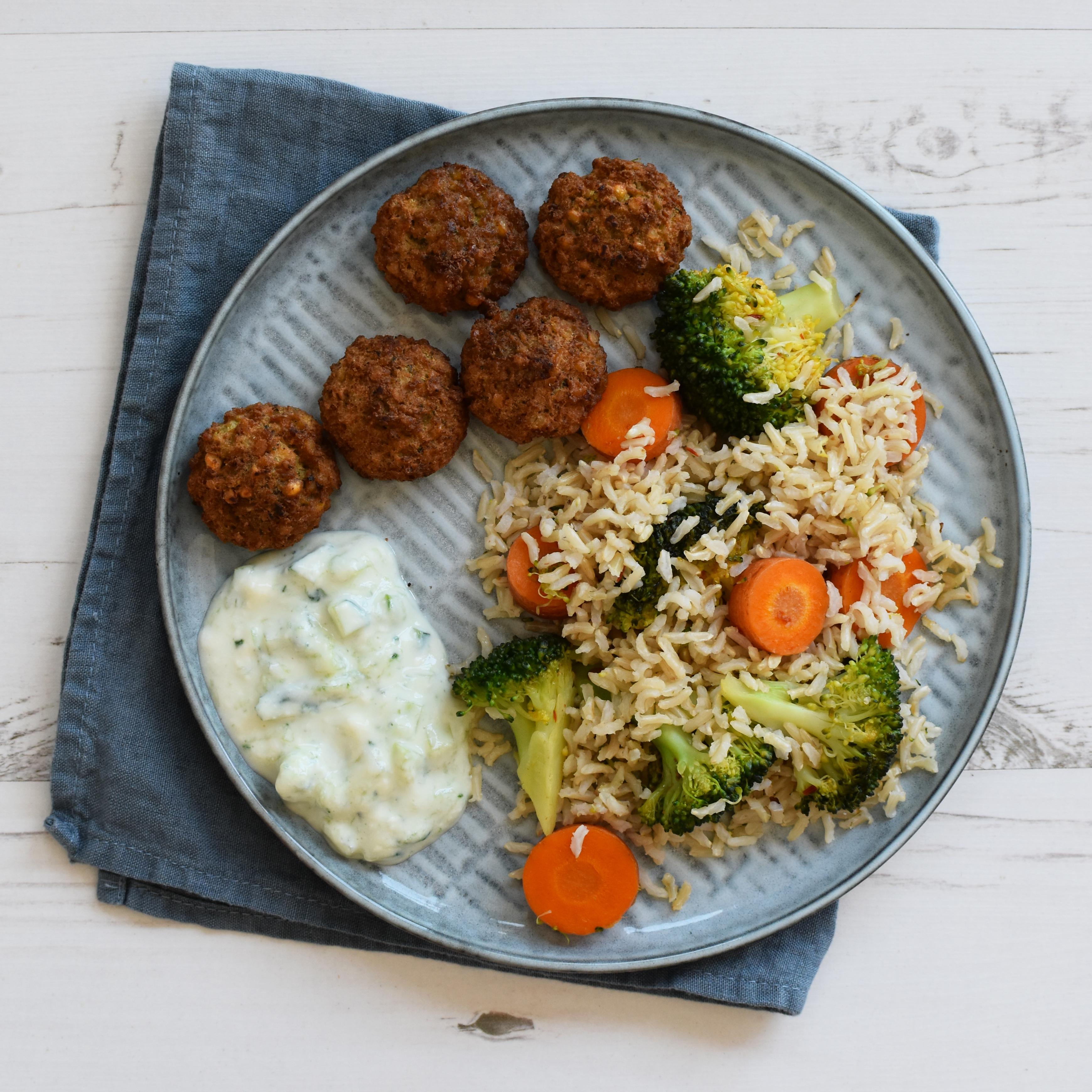 falafel recept vegan