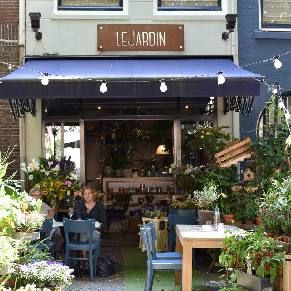 Cafe Jardin Lunch Menu: Restaurant Le Jardin In Utrecht