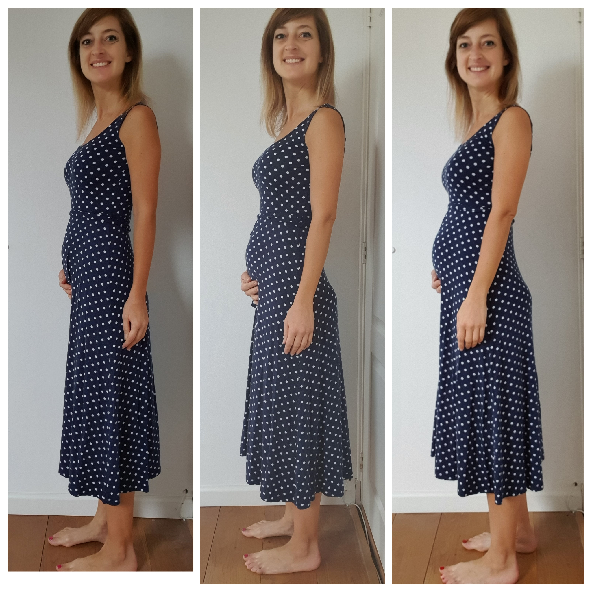 Pregnancy of second trimester Cramping During